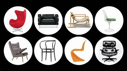Iconic Chairs Furniture Museum Gq Designs Behind