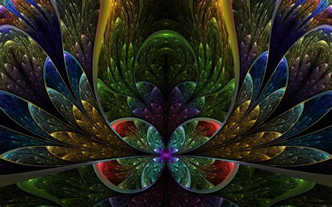 3d Flower Wallpapers by 3d Fractal Wallpapers Wallpaper Cave