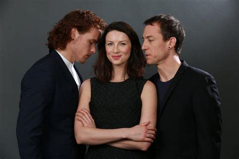 tobias menzies en couple the cast of outlander brings added dimension to fantasy