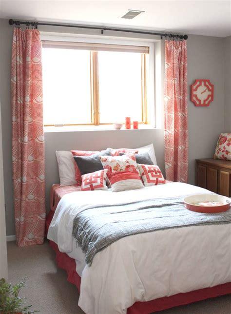 coral lovin guest bedroom progress drew vanessa