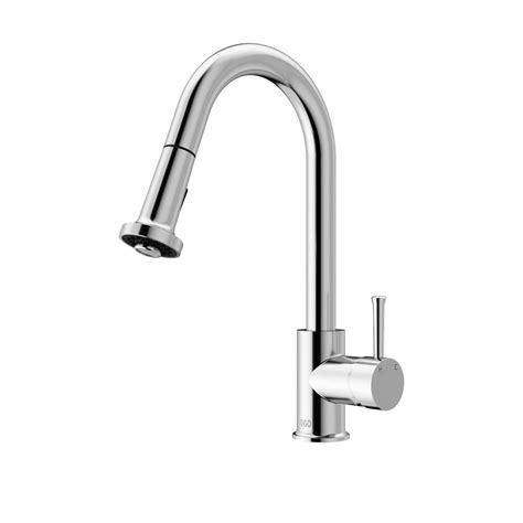 kitchen faucet with pull out spray vigo chrome pull out spray kitchen faucet the home depot