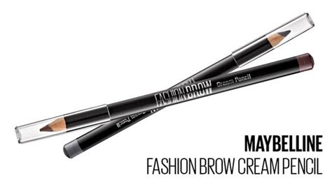 pensil alis wardah new maybelline new york fashion brow pencil