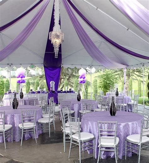 purple tent ceiling decor purple palooza che event