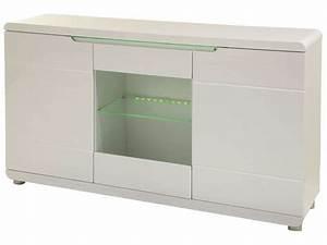 Meuble Tv Led Conforama : meuble tv blanc laque led conforama solutions pour la ~ Dailycaller-alerts.com Idées de Décoration