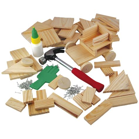 woodwork set ses creative wooden toys