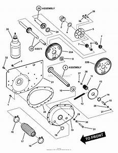 Snapper 331723bve  7084954  33 U0026quot  17 Hp Rear Engine Rider Series 23 Parts Diagram For Differential