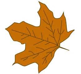 Cartoon Fall Leaves Clip Art