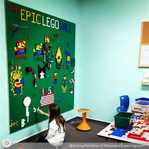 How to Build an Epic LEGO Wall | Renovated Learning
