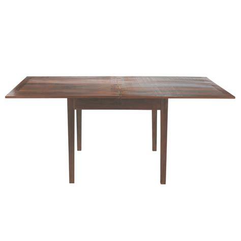 table de salle 224 manger 224 rallonges en bois l 90 cm clic clac maisons du monde