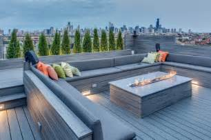 urban rooftop contemporary deck chicago by pitch