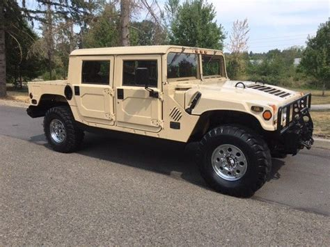 original hummer h1 1992 american general hummer h1 limited edition rare