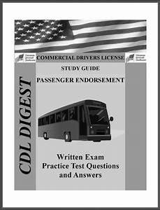 Cdl Practice Test Study Guide  Passenger Endorsement