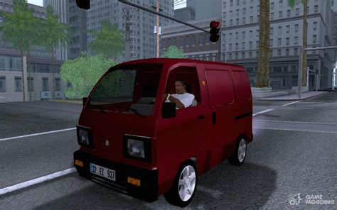Suzuki Carry 1 5 Real Modification by Suzuki Carry 1 3 1998 Blind For Gta San Andreas