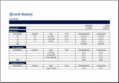 cash flow forecast template exceltemplates