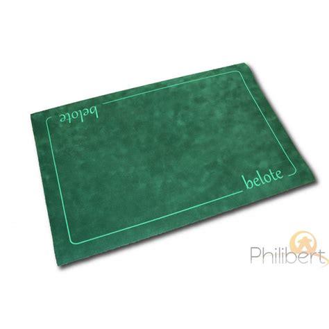 tapis belote sup 233 rieur 40x60cm vert boutique philibert