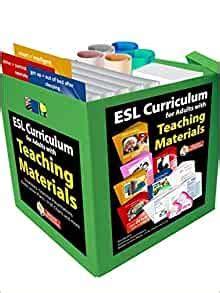 esl curriculum  adults  teaching materials