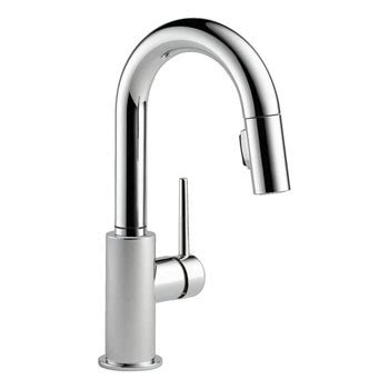 Delta Trinsic Faucet Black by Delta 9959 Dst Trinsic Single Handle Pull Bar Prep