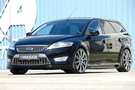 ford mondeo combi  rieger tuning car news  top speed