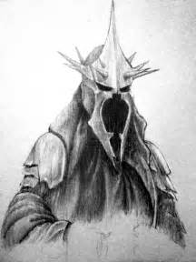 Lord of the Rings Witch King Drawing