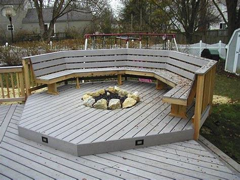 multi level decks and deck and patio combinations