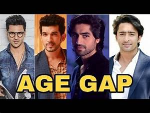 SHOCKING AGE GAP   Top 10 Tv Serial Actors Real Age Gap ...
