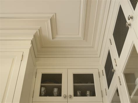 Beaux Arts Residence   Crown/Ceiling Plate Detail