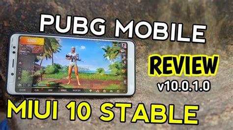 redmi note  pro pubg mobile gaming  miui  stable