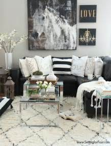 livingroom decorating black and white living room ideas