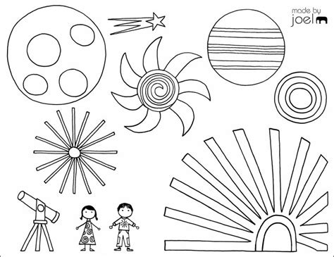 9 Cool, Free Summer Coloring Pages For Kids