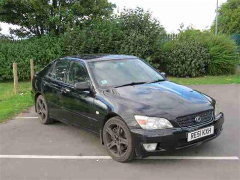 lexus car 2001 lexus 2001 is200 se black car for sale