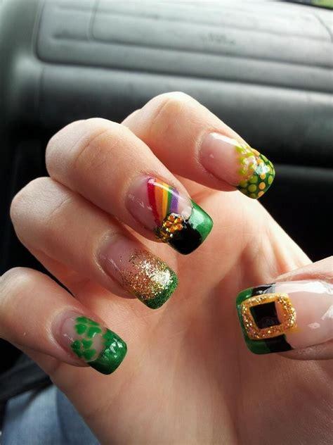 st patricks day nail designs st s day nail designs day dreamer