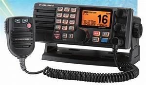 Furuno Fm4000 Vhf Radio With Dsc  Scan  And 30 Watt Pa