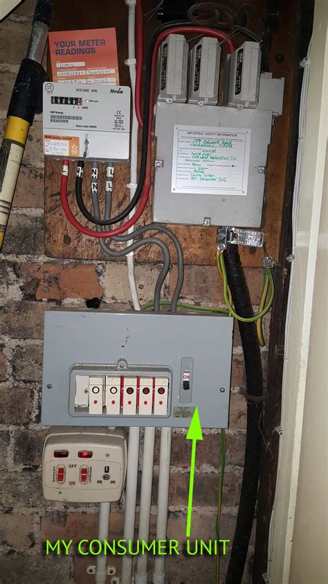 consumer unit replacement question answer board talk electrician forum