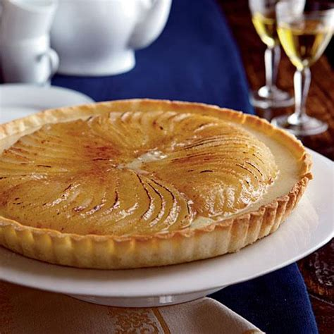 cook pears for dessert roasted pear creme brulee tart 51 beautiful desserts cooking light