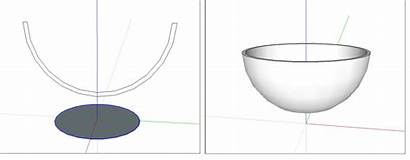Shapes Objects 3d Drawing Sketchup Cylinder Dimensional