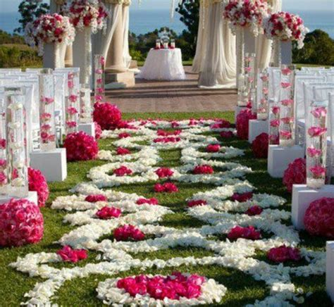 outdoor aisle decorations outdoor wedding aisle