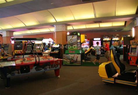 guide  disney world tomorrowland video arcade