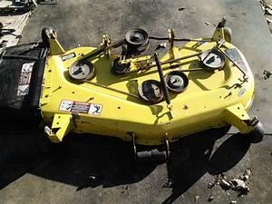 John Deere 425 Lx280 Complete 48 U0026quot  Mower Cutting Deck 48c