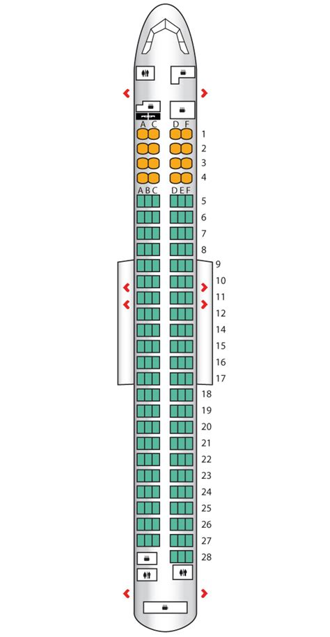 boeing 737 plan sieges united boeing 737 800 seating chart