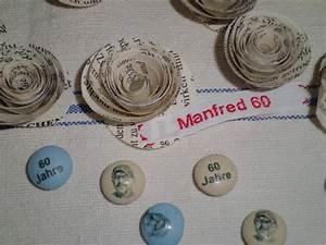 Tischdeko 60 Geburtstag Ideen : schlichte tischdeko zum geburtstag bild 1 ~ Lizthompson.info Haus und Dekorationen