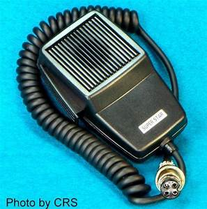 Mic    Microphone For 4 Pin Cobra    Uniden Cb Radio