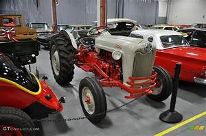 A 1950s Ford 600 Series Farm Tractor