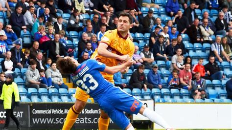 Motherwell midfielder Carl McHugh says he is lucky to ...