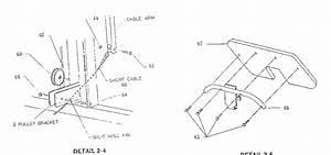 Arm Curl Board Diagram  U0026 Parts List For Model Em1 Marcy