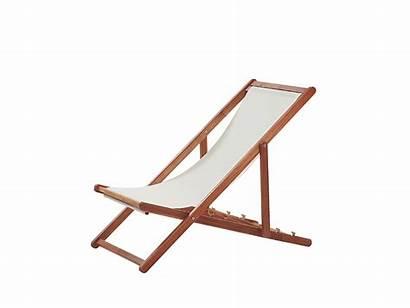 Beige Avellino Chair Deck Anzio Gartenliege Akazienholz