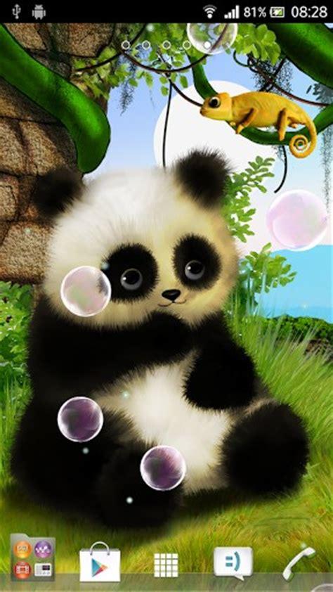 moving panda wallpaper wallpapersafari