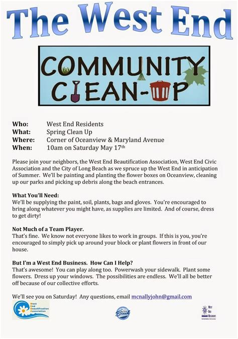 10 best images about neighborhood clean up on pinterest back to flyer template and how to