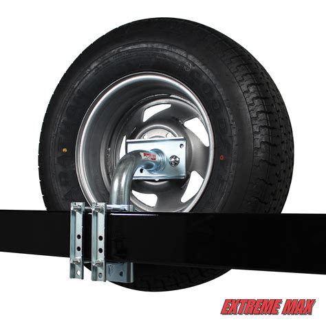 Boat Trailer Tire Stuck by Max 3005 3726 Heavy Duty Spare Tire Carrier