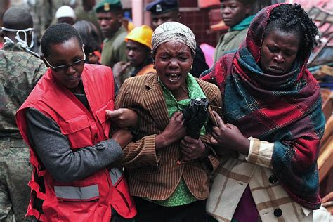 Nairobi, Kenya, Building Collapse Leaves At Least 12 Dead