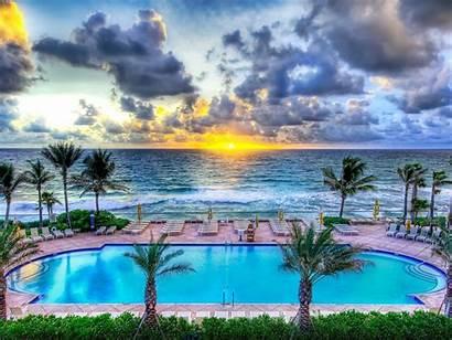 Florida Pool Party Desktop Wallpapers Beach Background